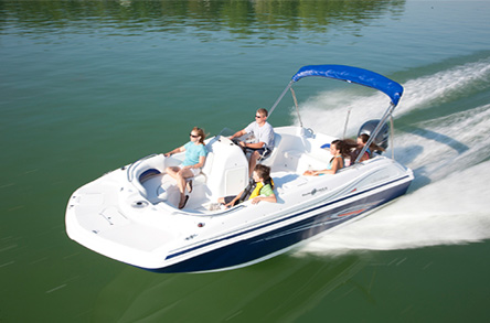 Hurricane Deck Boat Rental